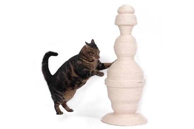 Lavish Tails cat scratch post