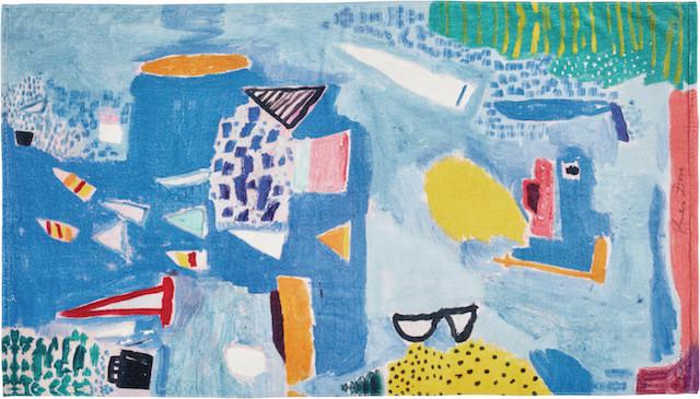 'Sunday Sailing' towel