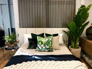 YU Interior styling event: One bed four ways