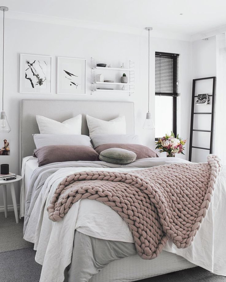 Styled bed
