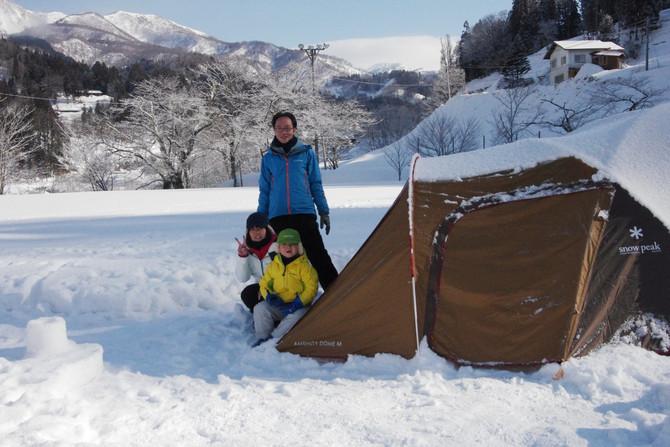 親子の里山アウトドアクラブ~かまくらパークで雪上キャンプ編~ 2018年3月3日(土)~4日(日)