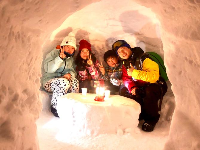 『かまくら雪遊びパークナイトツアー』・『かまくらジビエランチ 』スタートします!!