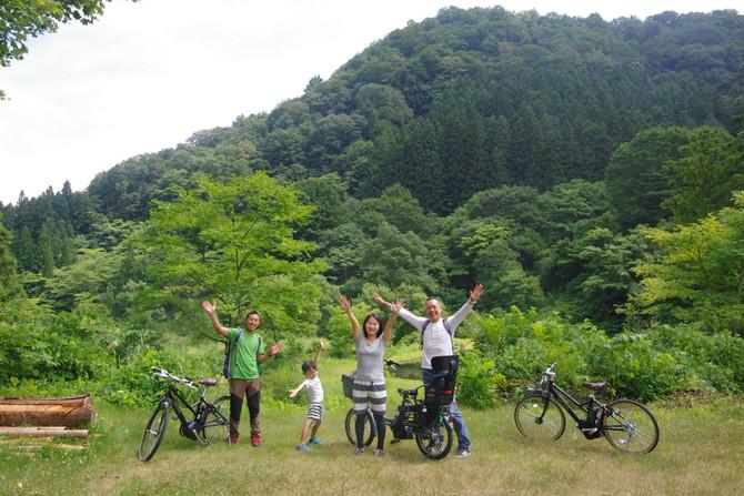 7月15日(土)~8月26日(日) 里山探険サイクリング