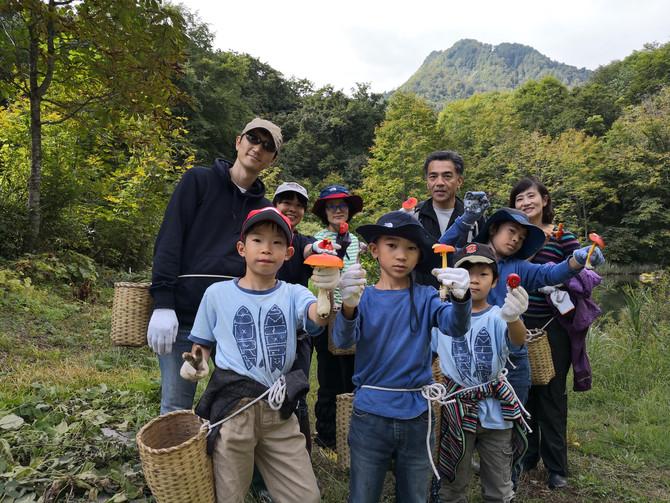 🍁石坂森林探険村 秋の特別割引宿泊プランのお知らせ
