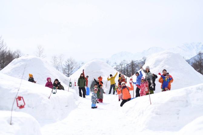 雪遊びパーク クローズします( ; ; )