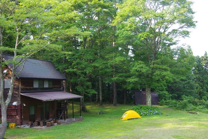 石坂森林探険村に泊まってみませんか?