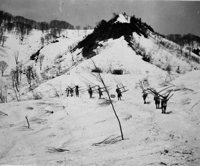 山田さんに教わる小谷の冬仕事 「一本ゾリ」と「酒造り」