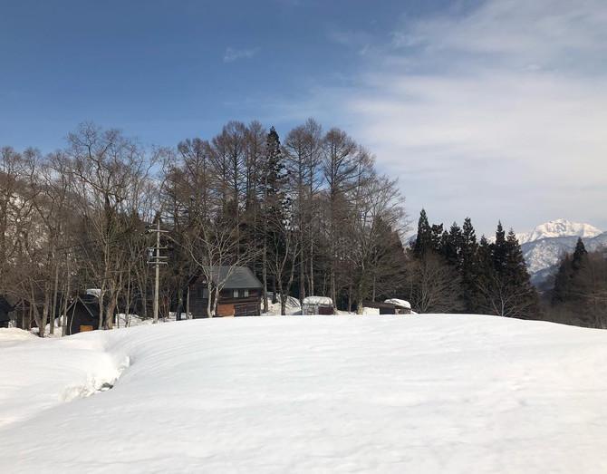 残雪の探険村❄️
