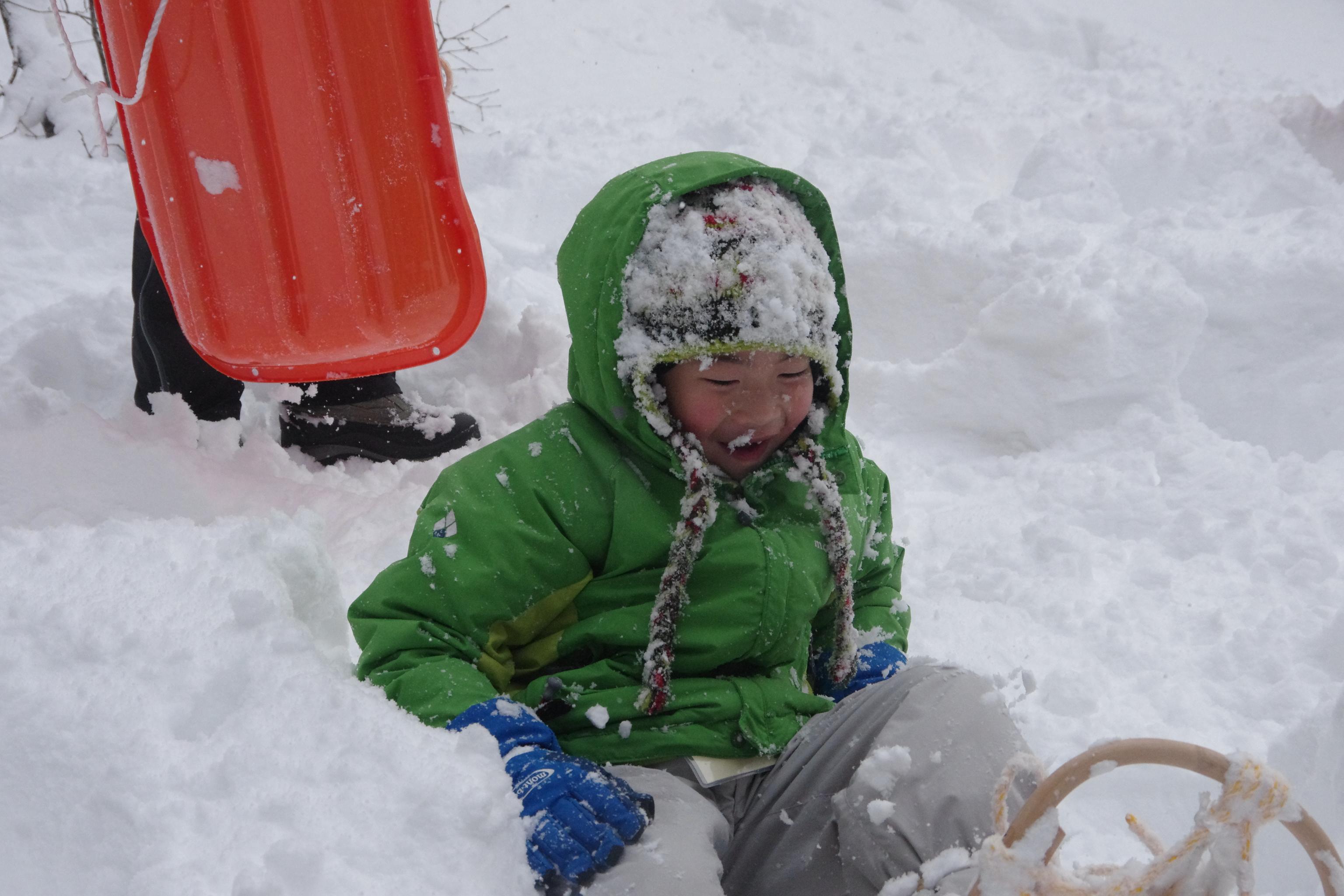 衝撃!パウダースノーとの出会い! 雪の中を泳いだよ
