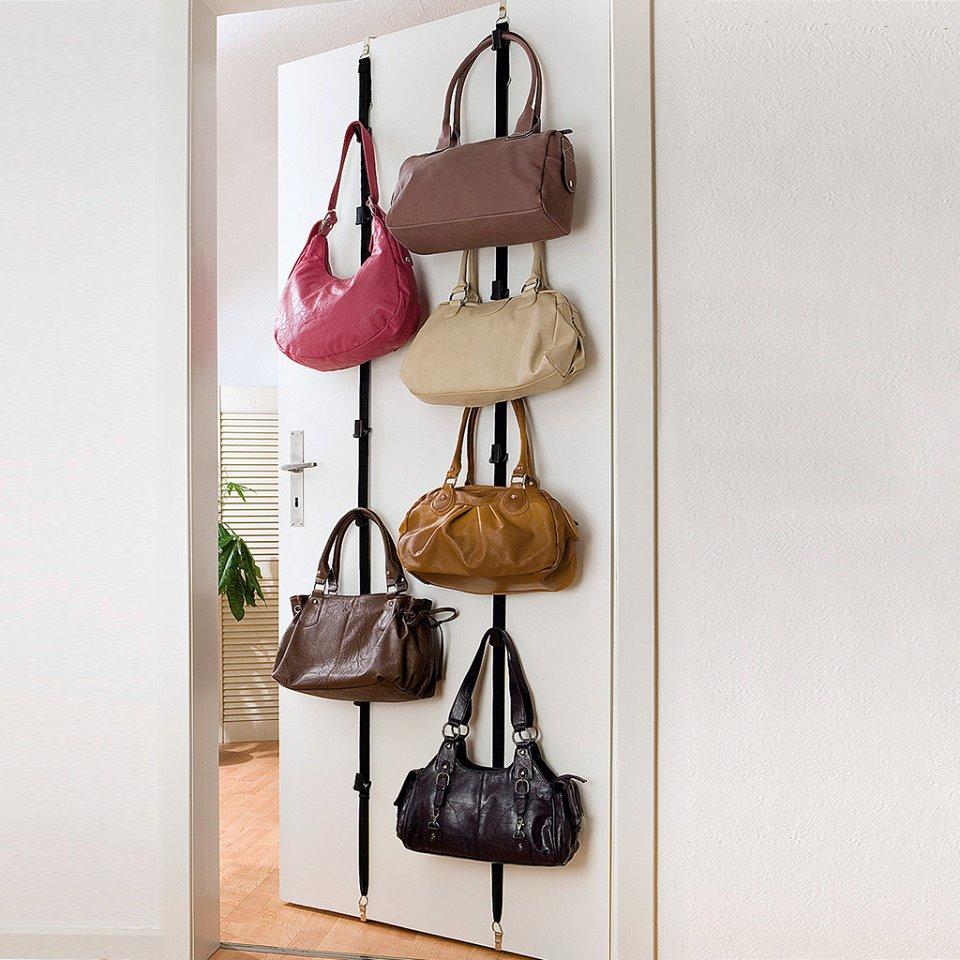 Идеи для хранения сумок.