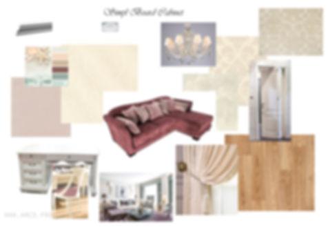 АМСД, Надежда Ращупкина, дизайн интерьера кабинета, дизайн кабинета, трехкомнатная квартира, 3д визуализация, современный стиль интерьера, свободная классика