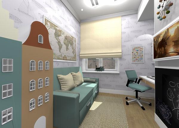 AMCD, дизайн студия, дизайн интерьера, дизайн квартиры фото, дизайн интерьера детской, дизайн детской фото, дизайн двухкомнатной квартиры