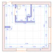 обмерный план, план монтажа новых стен, дизайн интерьера однушки