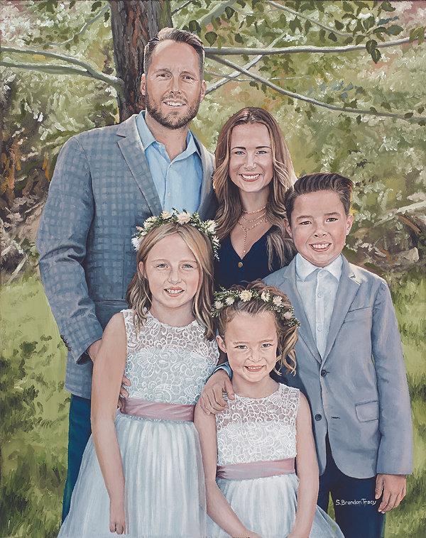 S. Brandon Tracy Fine Art, oil painting, portrait