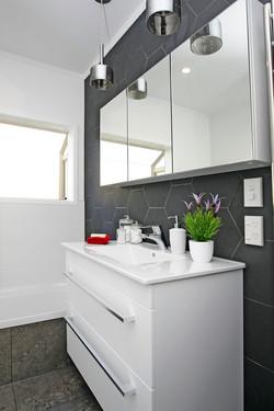 Hexagon Tiled Bathroom