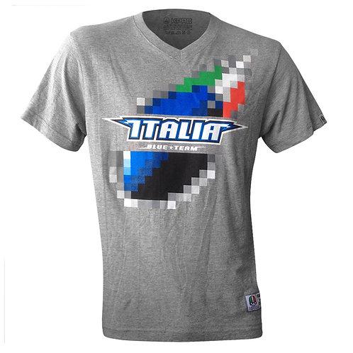"""T-shirt Blue Team """"Pixel"""""""
