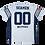 Thumbnail: Seamen Replica T-shirt White Customized Unisex