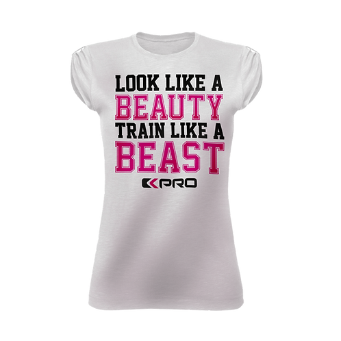 T-shirt Woman Beauty Beast