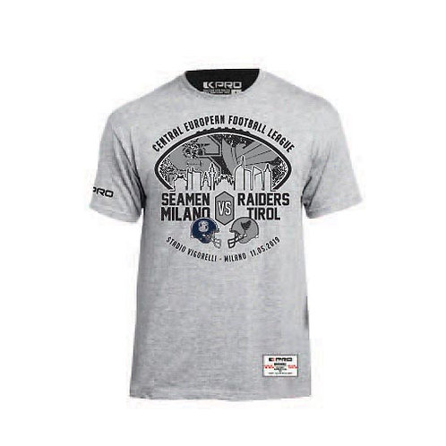 "Kpro T-shirt ""Seamen vs Raiders"" 2019"