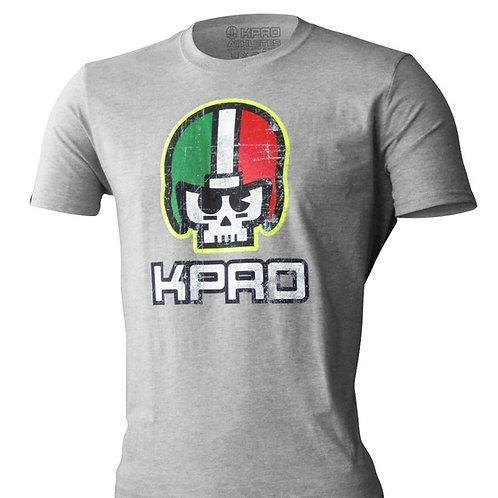 Tshirt SKULL FLUO Grey