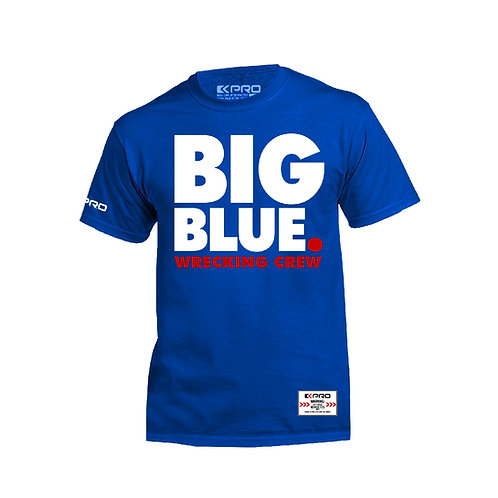 "Giants T-Shirt ""Big Blue"""