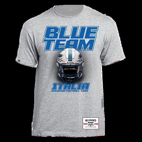 T-shirt Blue Team Helmet