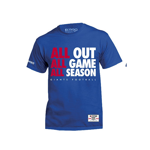 "Giants T-Shirt ""All Out"""