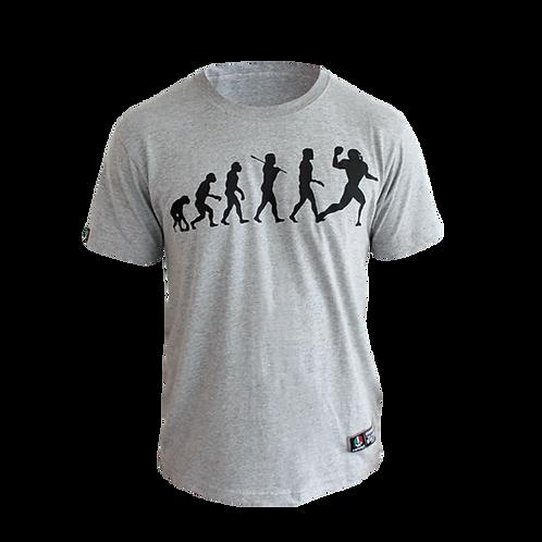 "T-shirt ""Born to play football"" Man and Kid"