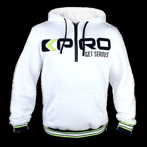 Sweatshirt KPRO Get Serious White