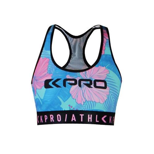 "Kpro ATHL Sports Bra ""Tropical Pink"""