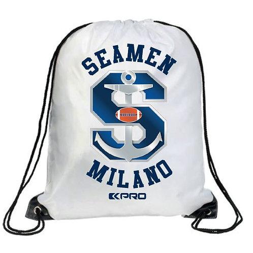 Gym Sack Seamen Milano White