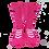 Thumbnail: Kpro sponge socks Fluo Pink