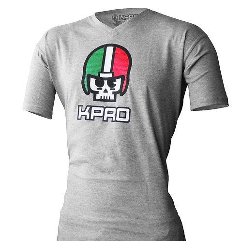 "Kpro T-shirt ""3D SKULL & STRIPES"""