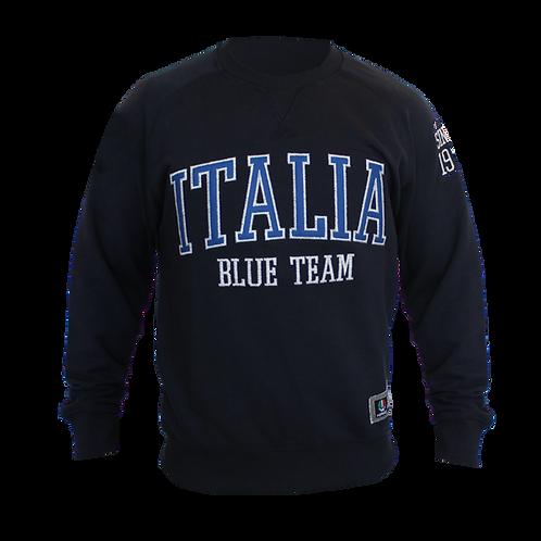 Sweater Crewneck Blue Team