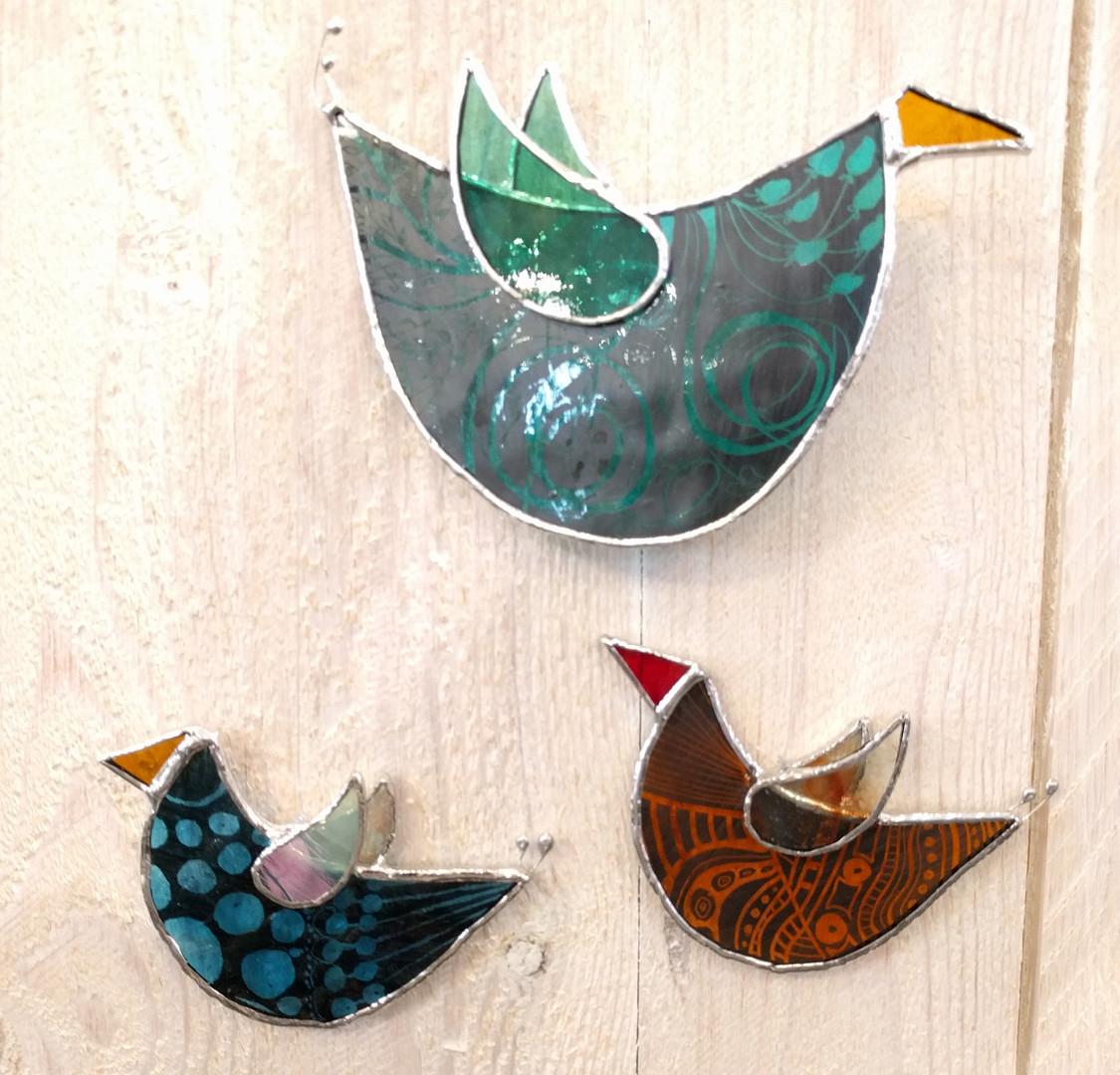 Glasfåglar