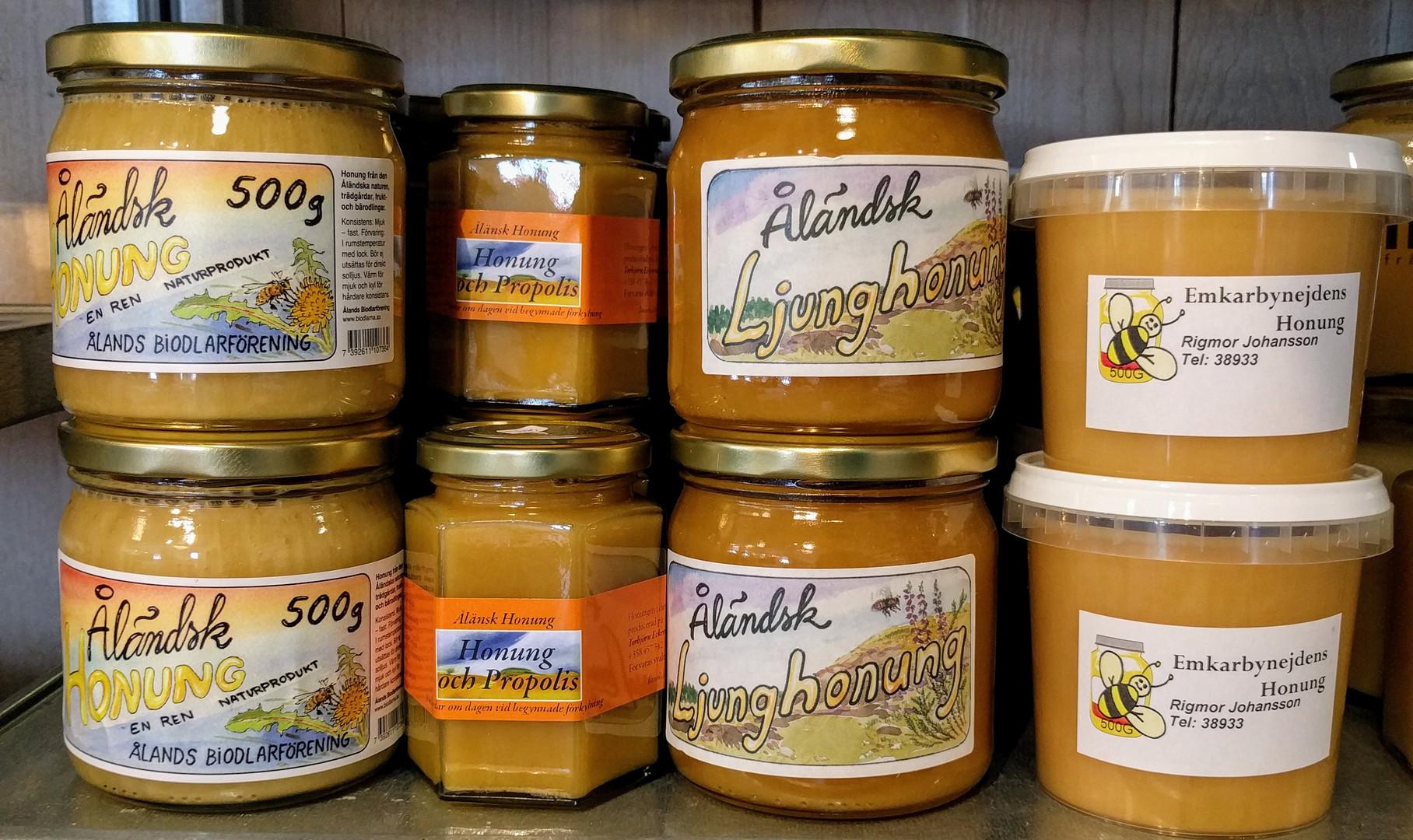 Ålängsk honung