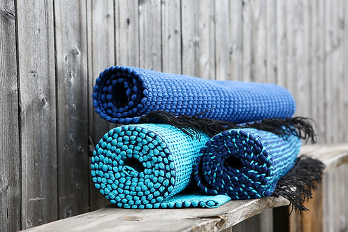 Blå mattor