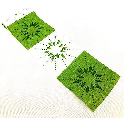 Löpare, Stjärnskott, Lime grön