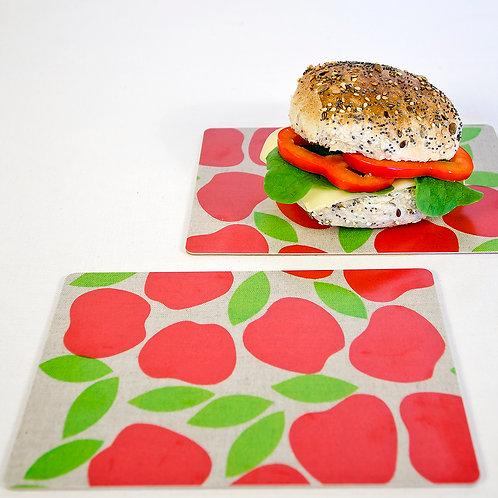 Smörgåsunderlägg, Äppel