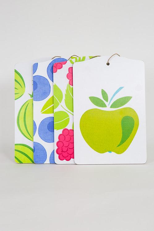 Skärbräde, Grönt äpple