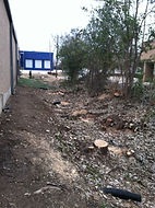 Lot Clearing in Business District