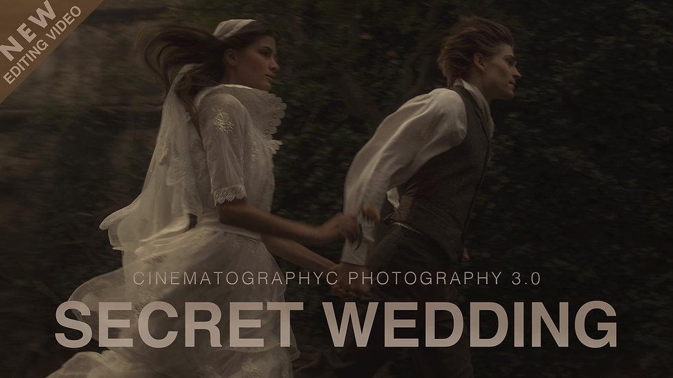 Secret Wedding. Обработка фото. Видеокурс
