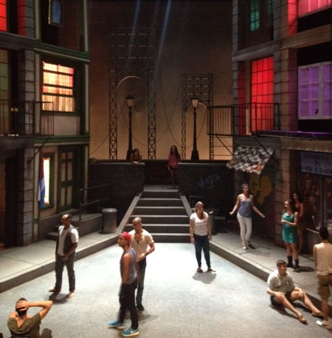 The 2012 cast of In the Heights at Front Porch Theatricals