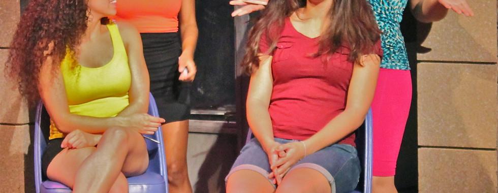 Beauty Shop Scene Act 1