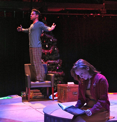 The 2015 cast of The Last Five Years at Front Porch Theatricals