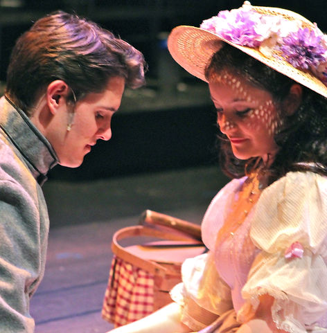 The 2014 cast of Parade at Front Porch Theatricals