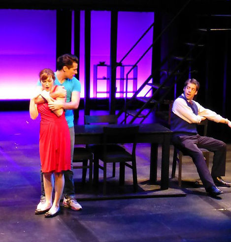 The 2012 cast of Next to Normal at Front Porch Theatricals