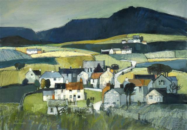 Y Fron Landscape. SOLD
