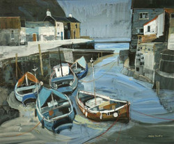 Boats at Staithes.