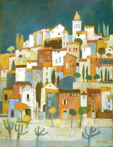 Hill Town Provence. £1875